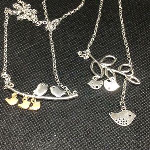 Jewelry - 2 Mama Bird Necklaces